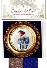 Lavender & Lace Cross Stitch Chart with Mill Hill Bead Set ~ MICHAEL #65 Sale