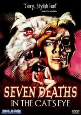 SEVEN DEATHS IN THE CAT'S EYE Jane Birkin*Anton Diffring Cult Horror R0 DVD *NEW
