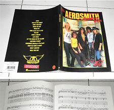 Spartiti AEROSMITH Greatest Hits GUITAR TAB PERFETTO Songbook Spartito Sheet