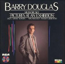 Cd Mussorgsky Pictures at an Exhibition Barry Douglas RCA Japanese Pressing EXC