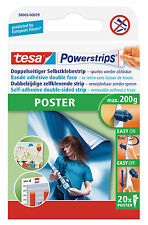 Tesa Powerstrips Poster; double-sided removable strips