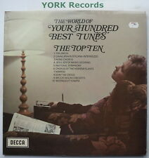 WORLD OF YOUR HUNDRED BEST TUNES THE TOP TEN - Ex Con LP Record Decca SPA 112