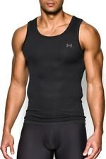 UNDER ARMOUR NEW $24.98 BLACK O SERIES COMPRESSION FITTED COOL DRY TANK S SMALL