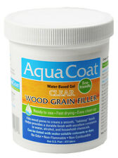 Aqua Coat Water Based Clear Wood Grain Filler QUART