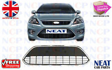 FORD FOCUS MK2 2004 - 2012 CHROMED FRONT BUMPER LOWER CENTER GRILLE TRIM