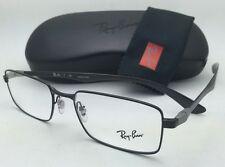 item 3 ray ban rx able eyeglasses tech rb 8414 2509 53 18 black carbon fiber frames