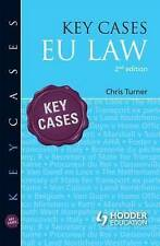 Key Cases: EU Law, Turner, Chris, Very Good, Paperback