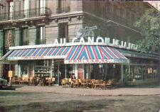 """PARIS XII° / PEUGEOT 403 au BAR-TABAC-PMU """"AU CANON DE LA NATION"""" animé"""