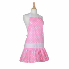 NEW Flirty Apron Women's 100% Cotton Strawberry Shortcake Pink Sadie One Size
