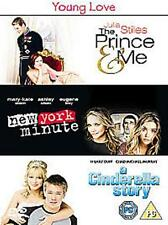THE PRINCE & ME NEW YORK MINUTE A CINDERELLA STORY 3 DISC BOX SET UK RG2 DVD VGC