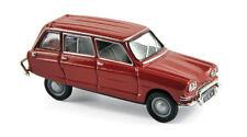 Citroen Ami 6 break de 1968 rouge corsaire - NOREV - Echelle 1/87 - Ho