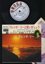 Brenda Lee - Sing Along With Brenda - If You Love Me - I Left My..+2 -EP - JAPAN