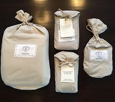 RESTORATION HARDWARE ~Italian Vintage Linen~ Queen Duvet~ KING & STND PC's~ $530
