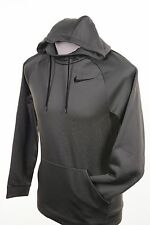 $50 Nike Therma Olive Green Black Dri-Fit Hoodie Kangaroo Pocket Men's S