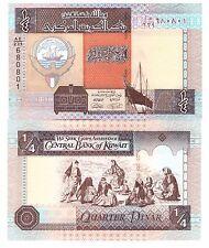 KUWAIT 1/4 DINAR L1968(1994)(2014) P-23-NEW UNC