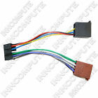 JVC 16 PIN ISO WIRING HARNESS LOOM TO ISO HEADUNIT LEAD CT21JV03