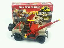 Vintage ☆ BUSH DEVIL TRACKER Jeep Jurassic Park Figure Vehicle ☆ Boxed World