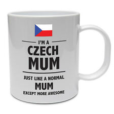 CZECH MUM - Czech Republic / Mummy / Mother / Funny / Novelty / Gift Ceramic Mug