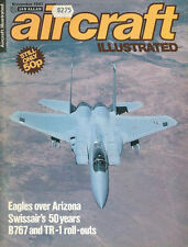 AIRCRAFT ILLUSTRATED NOV 81 SWISSAIR_USAF McD F-15 EAGLES TFW ARIZONA 405TH TTW