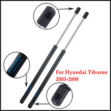 2PCs Front Hood Gas Lift Supports Shocks Springs For 2003-2008 Hyundai Tiburon