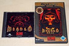 2 pc jeux set Diablo I & II Gold Edition FIXATIONS expansion Lord of Destruction