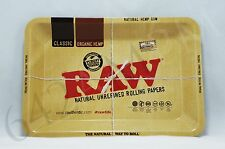 "AUTHENTIC Raw Rolling Tray 5"" x 7"" Rolling Papers Tobacco FREE U.S. SHIPPING"