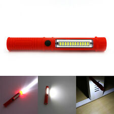 Outdoor LED Pen Light Magnetic Car Inspection Work Flashlight Lamp Torch 2 Mode