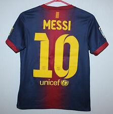 Barcelona Barca Spain home shirt 12/13 #10 Messi Nike KIDS Size M