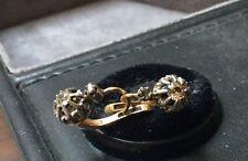 Boucles  D'oreille Anciennes Avec Diamant