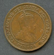CANADA 1909 LARGE CENT  YOU DO THE GRADING HAVE FUN BIDDING
