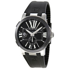 Ulysse Nardin Executive Dual Time Black Dial Automatic Mens Watch 243-00-3-42