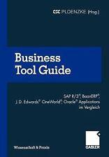 Wissenschaft and Praxis: Business Tool Guide : SAP R/3®, BaanERP®, J. D....
