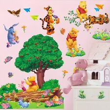 Cute Winnie The Pooh Tree Wall Sticker Vinyl DIY Home Decor Removable Kids Room