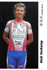 CYCLISME carte cycliste NIEK VOSKAMP équipe B&E cycling team