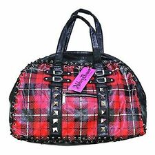 Abbey Dawn Out of Line Handbag - Red