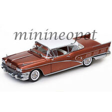 SUN STAR 4806 1958 BUICK LIMITED RIVIERA COUPE 1/18 DIECAST GARNET RED