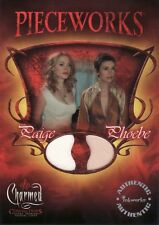 Charmed Connections Alyssa Milano & Rose McGowan PWC1 Pieceworks Card