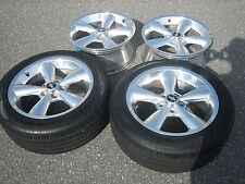2006-2009 FORD MUSTANG GT 18 INCH OEM POLISHED CHROME WHEELS RIMS W/ CENTER CAPS