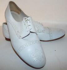 Rachel Comey White Leather Cap Toe Oxfords EU 40 or US 9