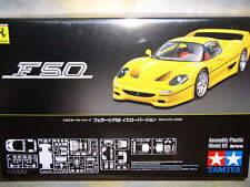 Tamiya 1/24 Ferrari F50 Yellow Version Model Car Kit #24297