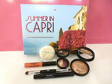 Laura Geller Summer in Capri 5 pc. Set - Bronzer Mascara Eyeshadow Gloss & Brush