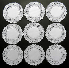 "DINKY BELLA PAPER LACE DOILIES x 250 =3.5"" OR 9CM"