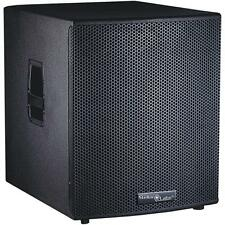 "NEW 15"" DJ Subwoofer Speaker Box MDF Cabinet.w/ Bass Woofer.PA Live Sound.500RMS"