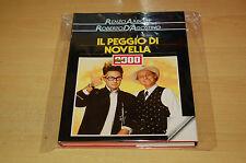 IL PEGGIO DI NOVELLA 2000 - RENZO ARBORE ROBERTO D'AGOSTINO Edizione CDE 1987