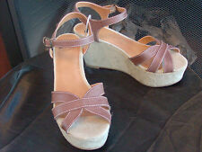 Womens NEW Size 10  * BC * Platform Wedge Sandals Shoes
