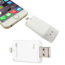 32GB i-Flash Drive HD USB Memory Device Stick Adapter For iPhone 5 5C 5S 6 6S