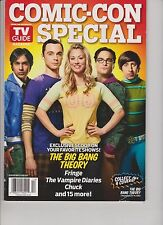 TV Guide Magazine Present COMIC CON Special THE BIG BANG THEORY 2011