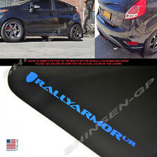 "Rally Armor UR ""Black Mud Flaps w/ Blue Logo"" 4pcs for 2013-2016 Ford Fiesta ST"