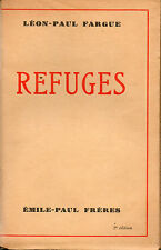 Refuges par Léon Paul Fargue
