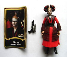 Star Wars POTJ Sabe Queens Decoy E I TPM w acc phantom menace figure       316